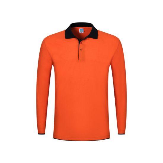 China Wholesale Custom Design Sublimation Printing Breathable Comfortable Sports Polo Shirt Long Short Sleeve Fashion Polo Shirt