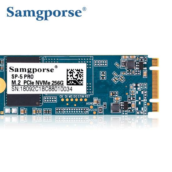 China Notebook PC Computer Parts PCI-E M2 Nvme SSD 256GB