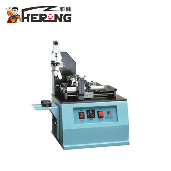 Hero Brand 2015 Plastic Bag Barcode Printing Machine Made China Ink Manual Ribbon Coder Bottle Code Date Lot Number Printer