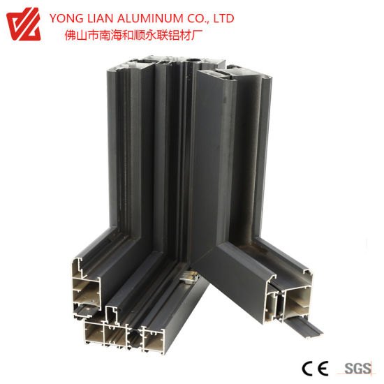 High Quality Aluminum Extrusion Aluminum Profile Alloy for Windows Frame Curtain Wall Frame Extrusion Profile Roof Frame pictures & photos