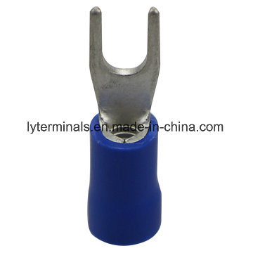 Insulated Spade Terminals 3.5/5.5mm2/Longyi Terminals/Copper Lugs pictures & photos