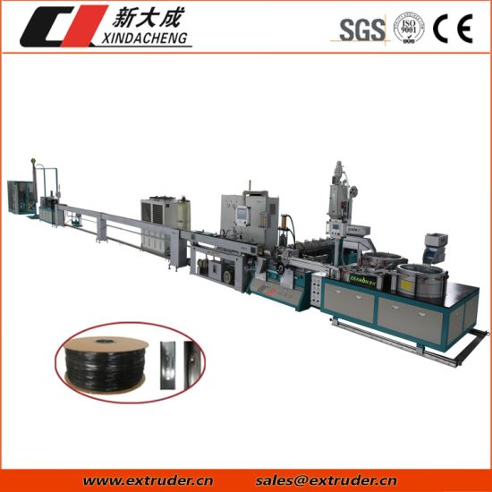 High Speed Thin Wall Flat Drip Irrigation Pipe Extrusion Machine
