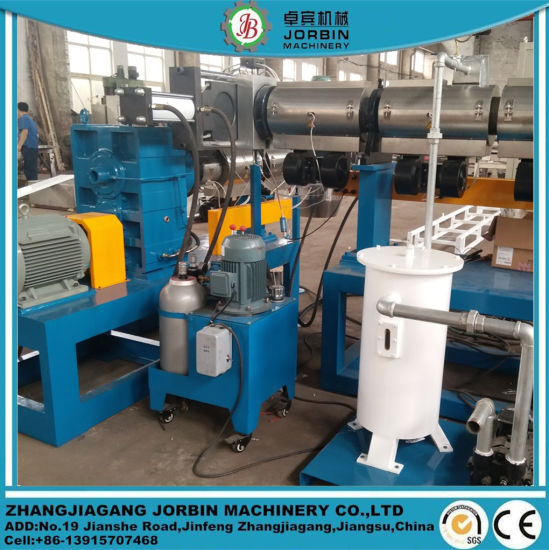 PP PE Pipes Flakes Recycling Pelletizing Line pictures & photos