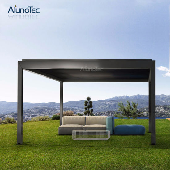 New Design Sun Shading Aluminum Pergola For Patio