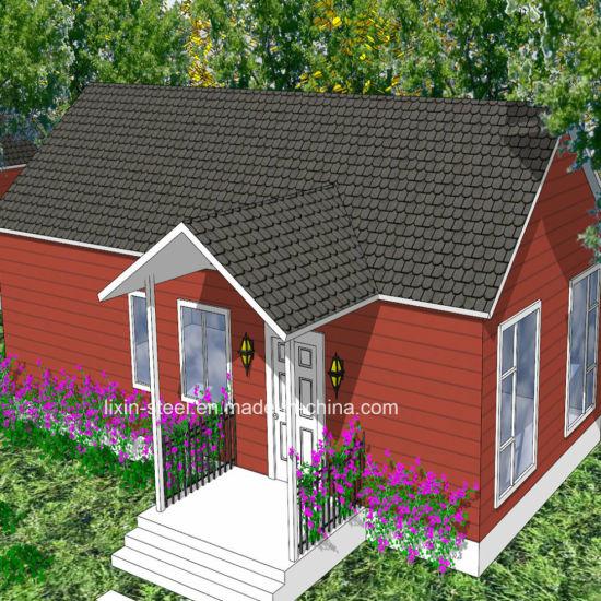 Assambly Prefab House Steel Frame Villa Building Modular Home