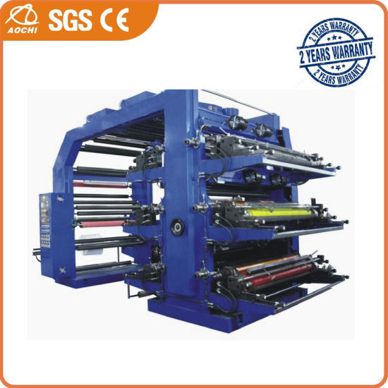 WS506-500GJ 6 Colors High Speed Flexographic Printing Machine