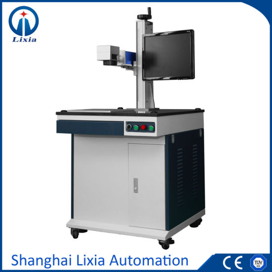 Table Model Fiber Laser Marking Machine Lx-3000b Metal Nonmetal Marker pictures & photos