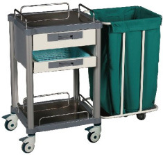 Medical Anesthesia Cart with Five Drawers (P-22)