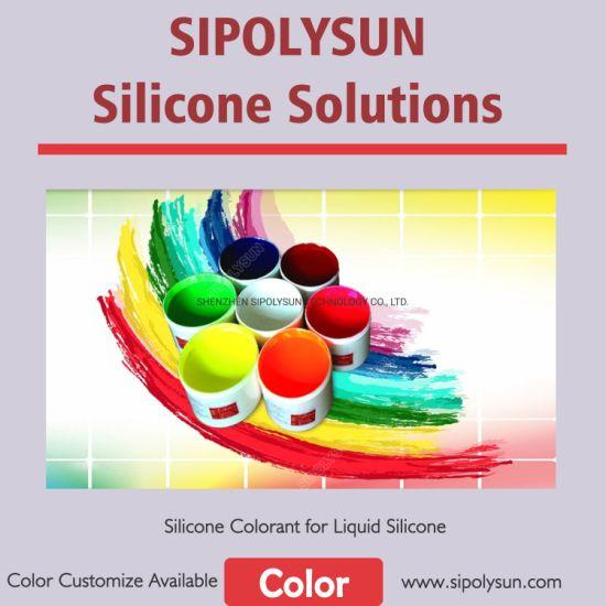 Silicone Colorant Liquid Color Paste for LSR Silicone Coloring