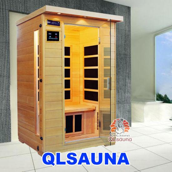 New Sauna Room Carbon Heater G2d 2 Person Infrared Sauna
