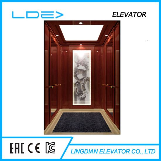 Machine Room House Residential Lift with Villa Passenger Home Elevator