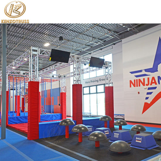 American Ninja Warrior Obstacles Course Gym for Training