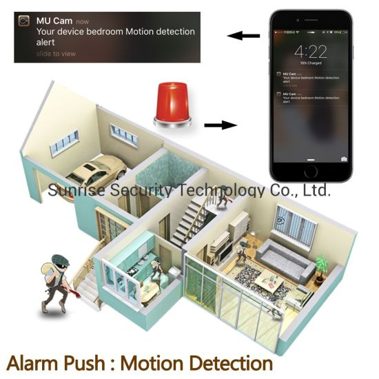 China Rechargeable Battery Mini WiFi Video IR Body CCTV Security