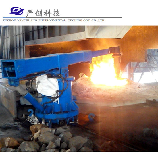 Cost-Effectiveness New Invention Pushing Scrap Steel Induction Furnace Steelmaking Manipulator