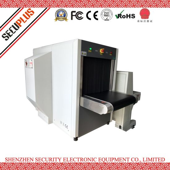 Dual-view Security Baggage Scanner SPX6550DV X ray Scanner