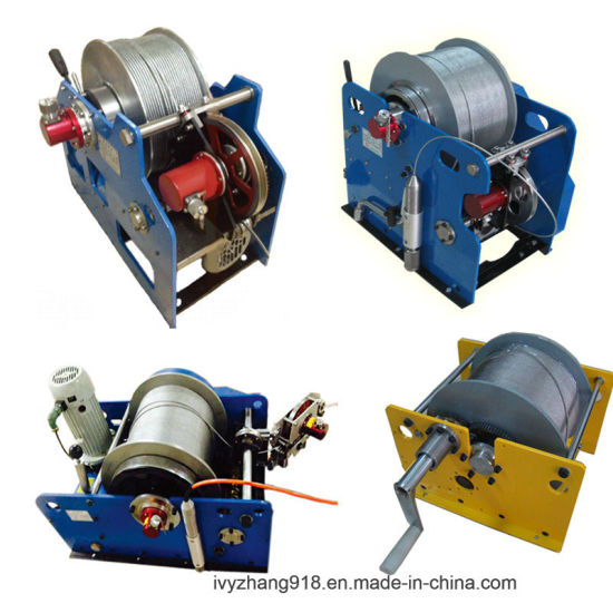 1000m Cable Pulling Winch Machine, Well Logging Winch and Water Well Borehole Winch and Geophysical Winch for Sale