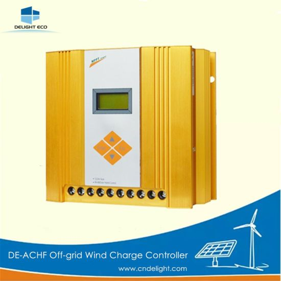 Delight De-Achf 12V/24V MPPT off-Grid Wind Solar Hybrid Charger Controller pictures & photos