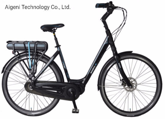 700c MID Motor Electric City Bike