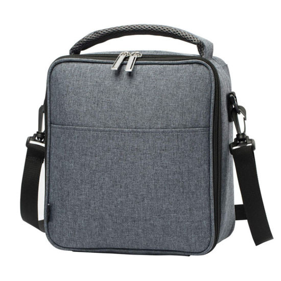 Insulated Lunch Box Leak-Proof Cooler Bag Dual Compartment Lunch Tote for Men Women Wine Bag