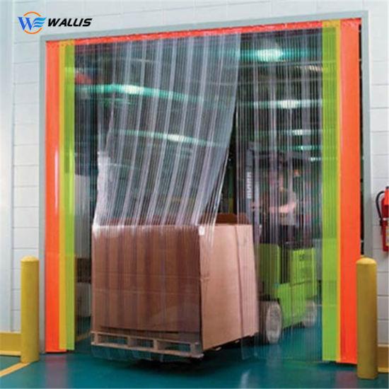 Strip Door Wall Flexible Clear PVC Curtain, PVC Curtain Sheet, Plastic Polyethylene Sheet
