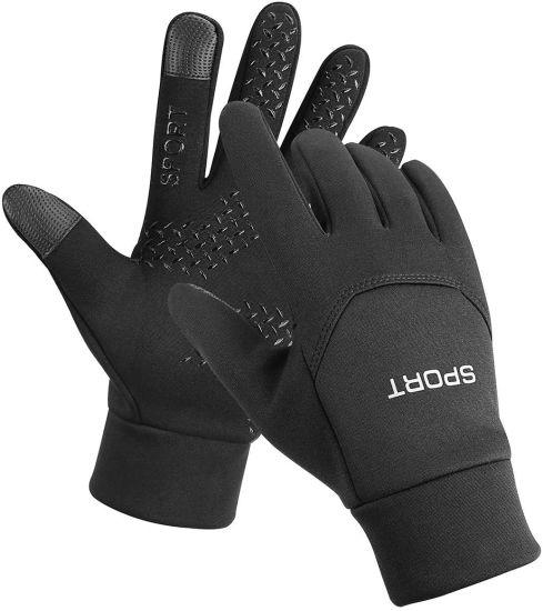 Wind Proof Warm Touchscreen Winter Gloves Men Women for Cycling Running Outdoor