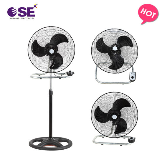 China Air Cooler 18 Inch 3 in 1 Industrial Stand Fan