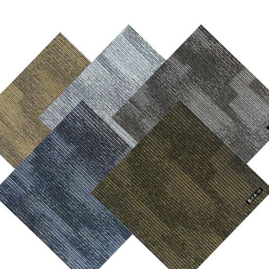 China Hotel Office 60X60 Commercial Fireproof Nylon Carpet Tile PP Commercial  Carpet Flooring Office Carpet Tiles - China Commercial Carpet Tiles and Nylon  Carpet Tiles price