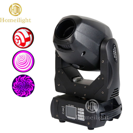 Stage Lighting 2 R LED 120W Spot Beam Moving Head Beam Light for Party, Club, Wedding