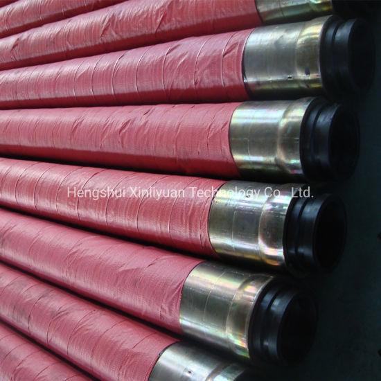 Steel Wire Reinforcement Concrete Pump Rubber Hose 85bar