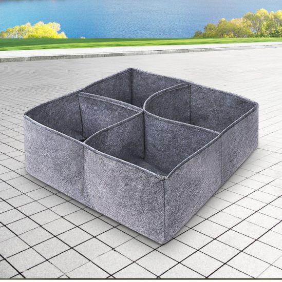 Yayimedical Plant Bag Custom Plant Grow Garden Felt 5 Gal 10 Gallon Pototo Seedling Areation Grow Container Bag