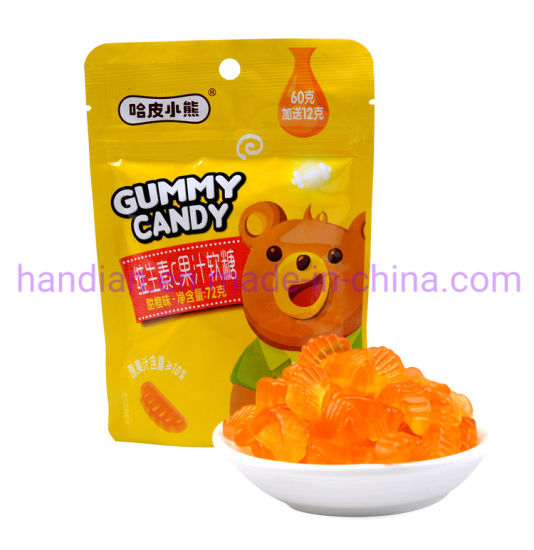 25 Counts Natural Vitamin C 120 Mg Gummy for Immune Support