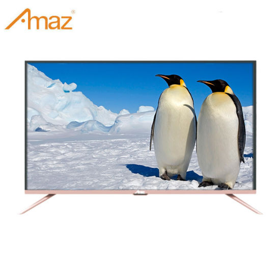 OEM Metal Stand Slim Frame Smart Android 42 Inch TV