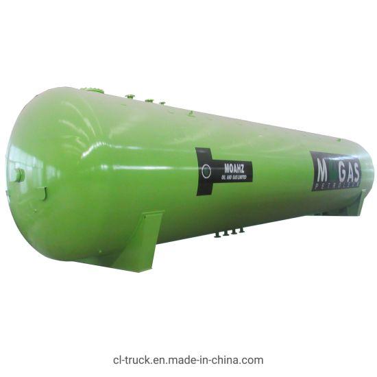 Clw Brand 50m3 Bulk LPG Gas Storage Tank for Propane