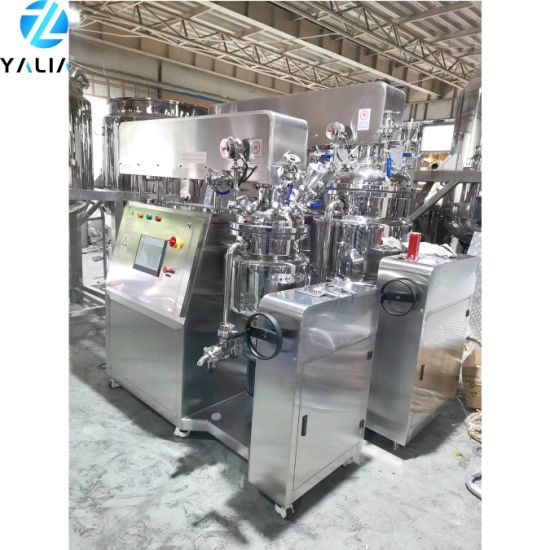 Custom Make Vacuum Emulsifying Mixer/Homogenizer Mixer for Cosmetic Cream Production Line and Pharmaceutical Ointment Production Line