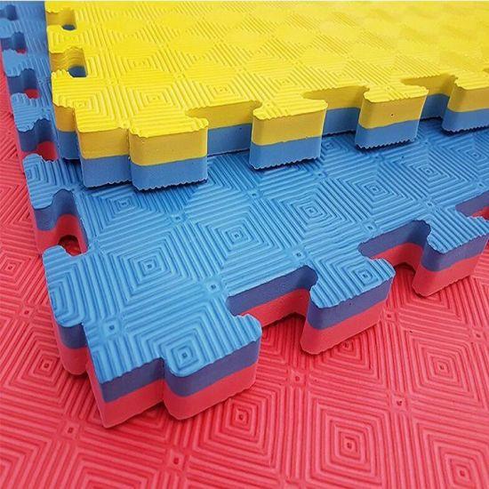 Jigsaw Tatami Taekwondo Judo EVA Foam Flooring Tiles