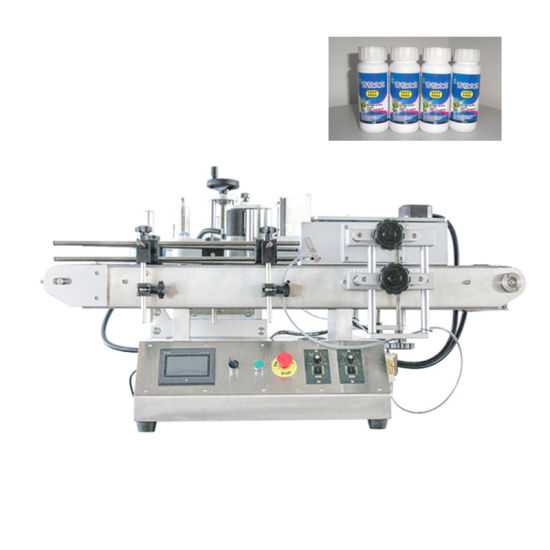 Semi-Automatic Labelling Machine for Round Bottles Plastic