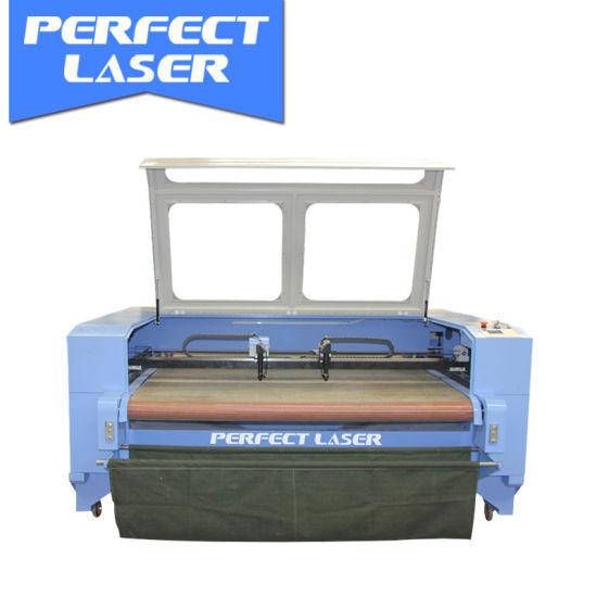 1600*1000mm Dual Heads CO2 Laser Cutting Machine / Large Format Tailoring Laser Cutting Machine