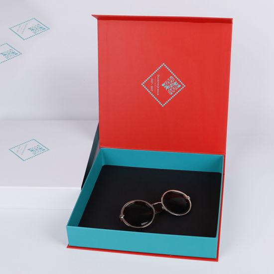 Custom Cardboard Magnetic Jewelry Set Packaging Gift Box