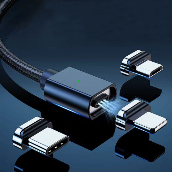 Amazon Hot Sale High Quality 3A Fast Charging 3 in 1 Magnetic USB Data Charger Cable USB Cables Manufactures