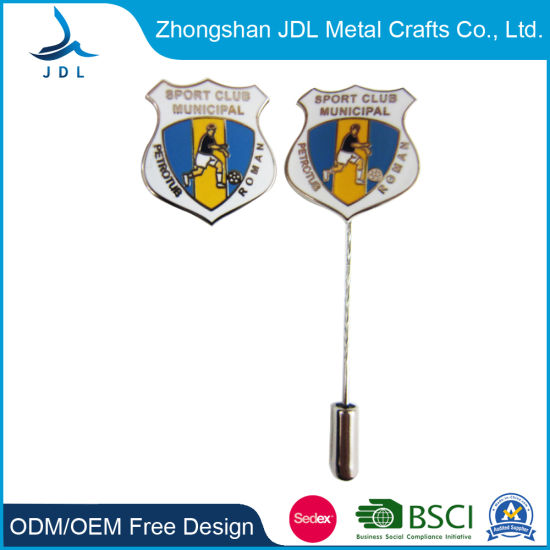 Wholesale Cheap Metal Heart Badges for Decoration with Nadel+End (115)