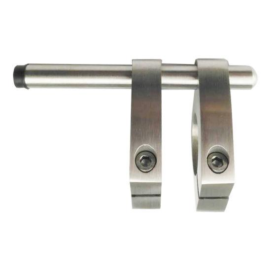 Frameless Sliding Door Hardware, Double Wheel Barn Door Door Stopper