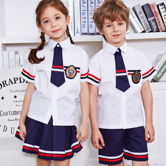 65% Cotton 35% Polyester School Uniforms Design with Pictures pictures & photos