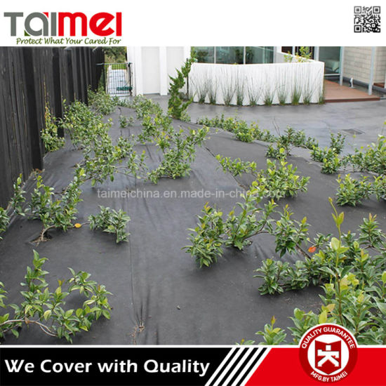 Plastic Non Woven Landscape Barrier Ground Cover For Garden Weed Membrane