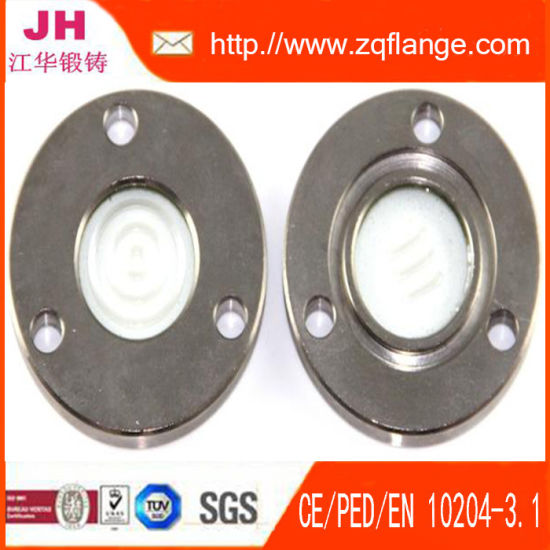 Electroplating Zinc Carbon Steel Pipe Fifting Flange pictures & photos