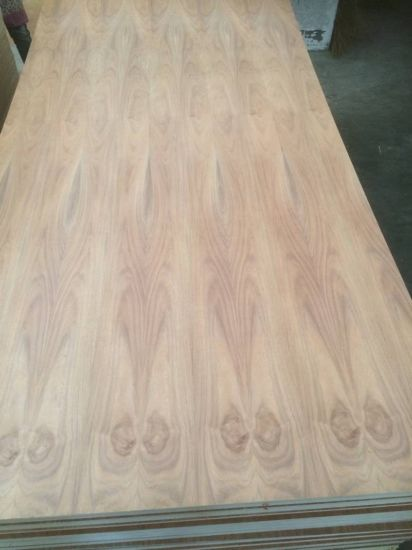 Natural Carribean Black Walnut Fancy Veneer MDF for Decorative Use in 12mm 15mm 18mm pictures & photos