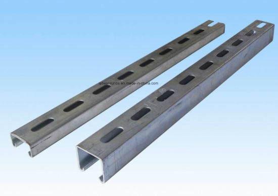 HDG U Channel Steel Use for Solar Stand pictures & photos