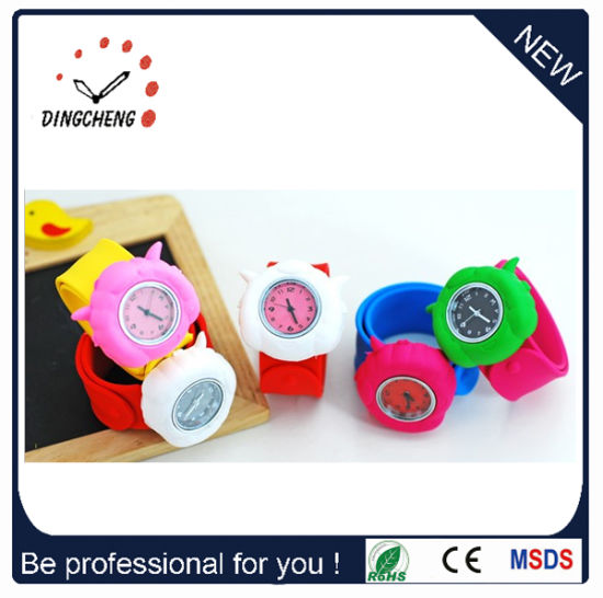 Multiple Type Kids Smart Sport Slap Wrist Watch (DC-711)