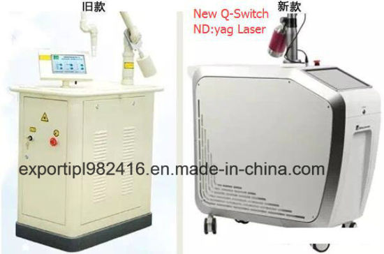 Big Spot Size Professional Q-Switch ND YAG Laser Medical Tattoo Removal Picolaser FDA, Medicial Ce, Tga Approved pictures & photos