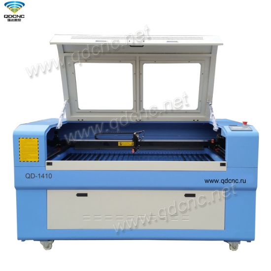 CNC CO2 Laser Engraving Cutting Machine with DSP Controller Qd-1410