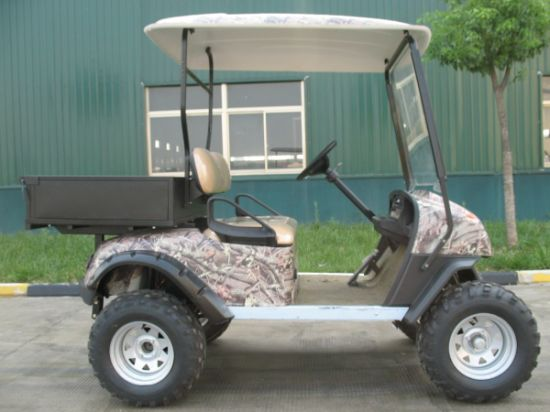 Two Seats Electric Hunting Buggy with Cargo Box pictures & photos